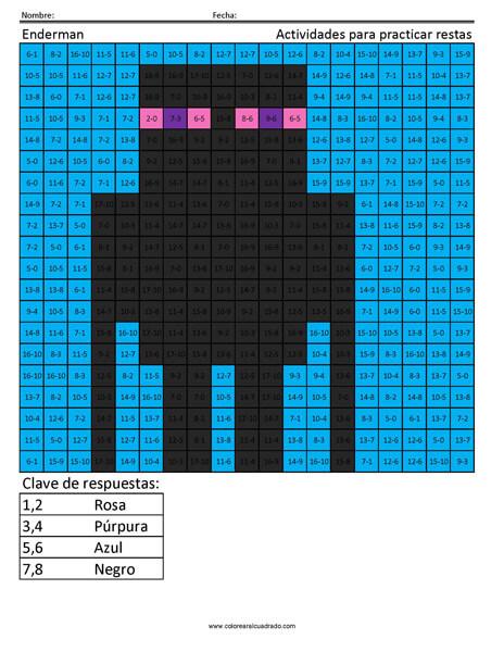 Minecraft suma y resta