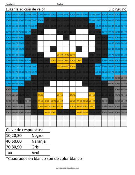 Lugar la adición de valor- El pingüino